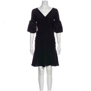 Roberto Cavalli Silk Knee-Length A-Line Dress